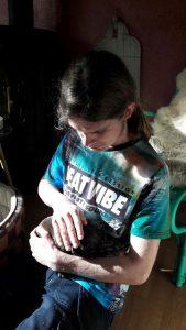 Arco met kitten