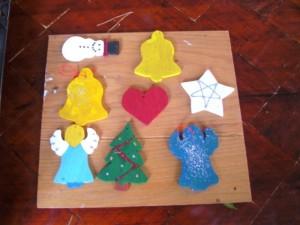 Een kerstster op Titurel