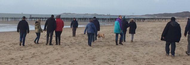 Het nieuwe jaar gestart met een dagje naar 't strand – tekst en foto's Linda