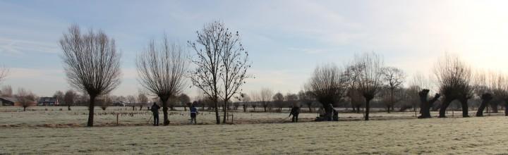 Het is koud….erg koud…..en wij: gaan knotten! Verslag door Koen, foto's door Mijke