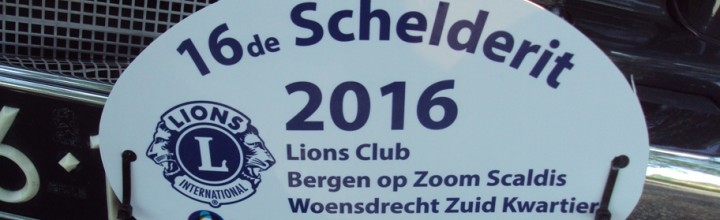 De Lions Club verzorgde een onvergetelijke Schelderit! Tekst en foto's door Serge