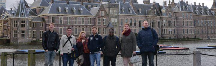 Leerzame uitstap naar het Binnenhof met de cultuurklas, door Ad de Vos