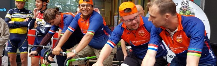 "Uniek sporten in Woensdrecht: ""wieler clinic"" was een feestje!"