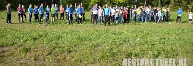 Bewoners en medewerkers van Titurel doen mee aan de Woensdrechtse sportchallenge!