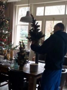 kerststukjes maken
