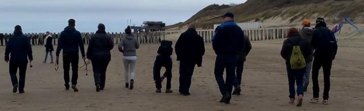 Tweede Paasdag lekker naar het strand! tekst: Gea, foto's: Jessie