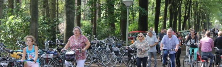 Gezinsfietstocht: bijna 1000 fietsers kwamen langs!